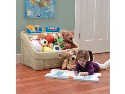 Box na hračky 2v1