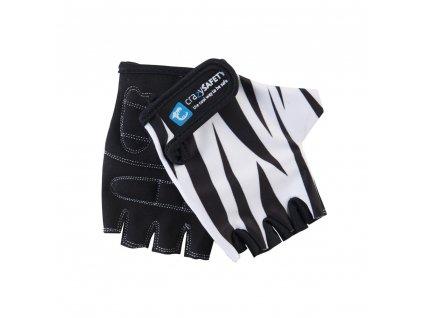 rukavice crazy safety bily tygr s 4846
